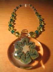 Glass Necklaces : Fine Glass Jewelry and Beaded Glass Necklaces