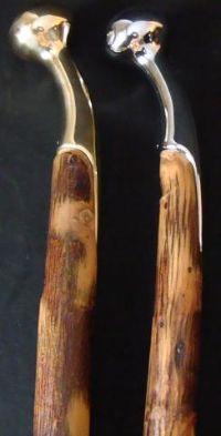 Hickory Hames Cane Walking Stick Amish Handmade With Favorite Hame