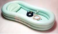 EZ Bathe Inflatable Bathtub with Accessories