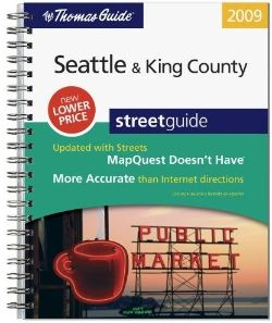 Seattle King County Thomas Guide 2009 Thomas Bros Maps Sold Out