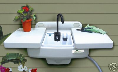 Outdoor Sink Workstation