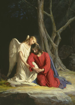 Gethsemane by Carl Bloch