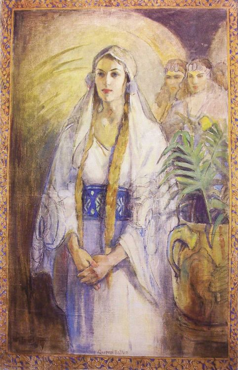 Queen Esther by Minerva Teichert