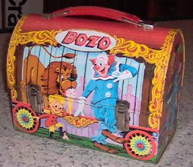Bozo The Clown Lunch Box