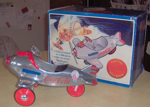 Coca Cola Pedal Airplane