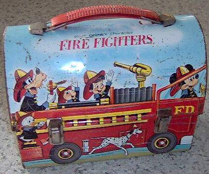 Fire Fighters Lunch Box