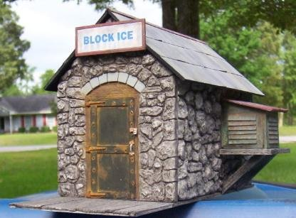 G Scale Ice House Kit!