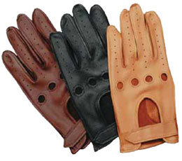 Wheelskin deer skin driving gloves
