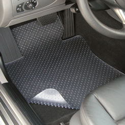 Clear Vinyl Floor Mat