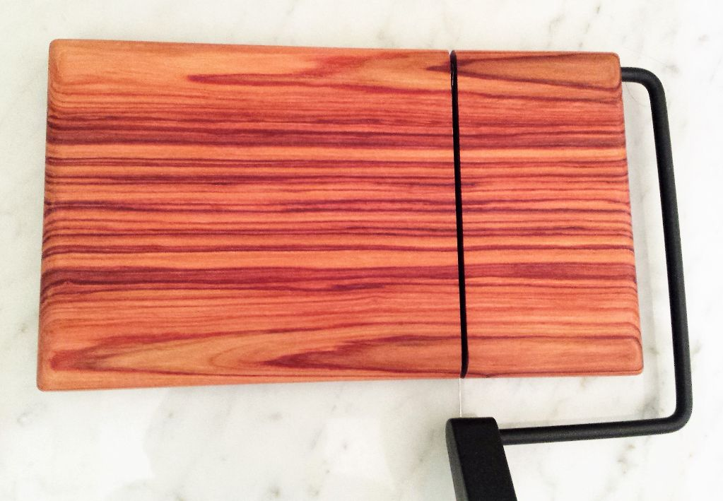Beautiful Bolivian Rosewood  and Padauk Exotic Wood Chees...