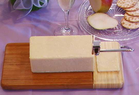 Maverick Myrtlewood Cheese Slicer