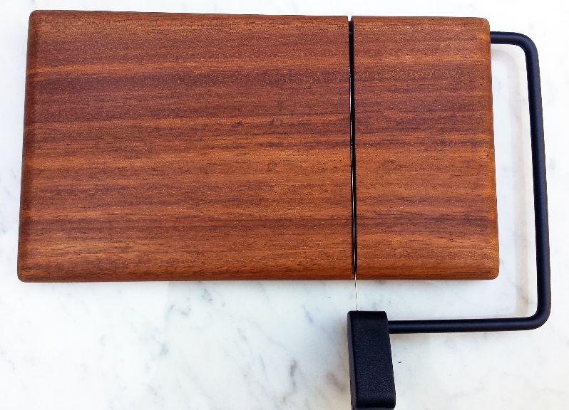 One-of-a-Kind Brazilian Tulipwood Cheese Slicer