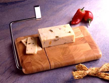Prodyne Enterprises Beechwood Cheese Slicer Serving Tray ...