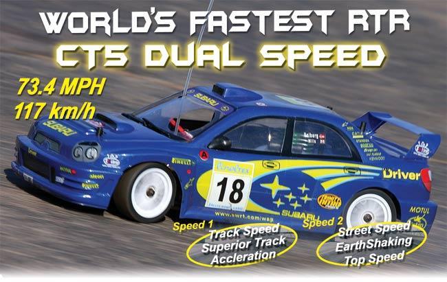 Cen Racing Ct5 Nitro Racing Sedan