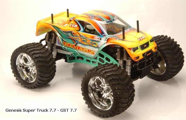 Cen Racing Genesis 7 7 Monster Truck