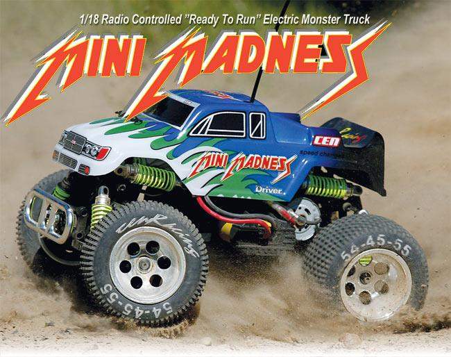 Cen Racing Mini Madness Electric Monster Truck